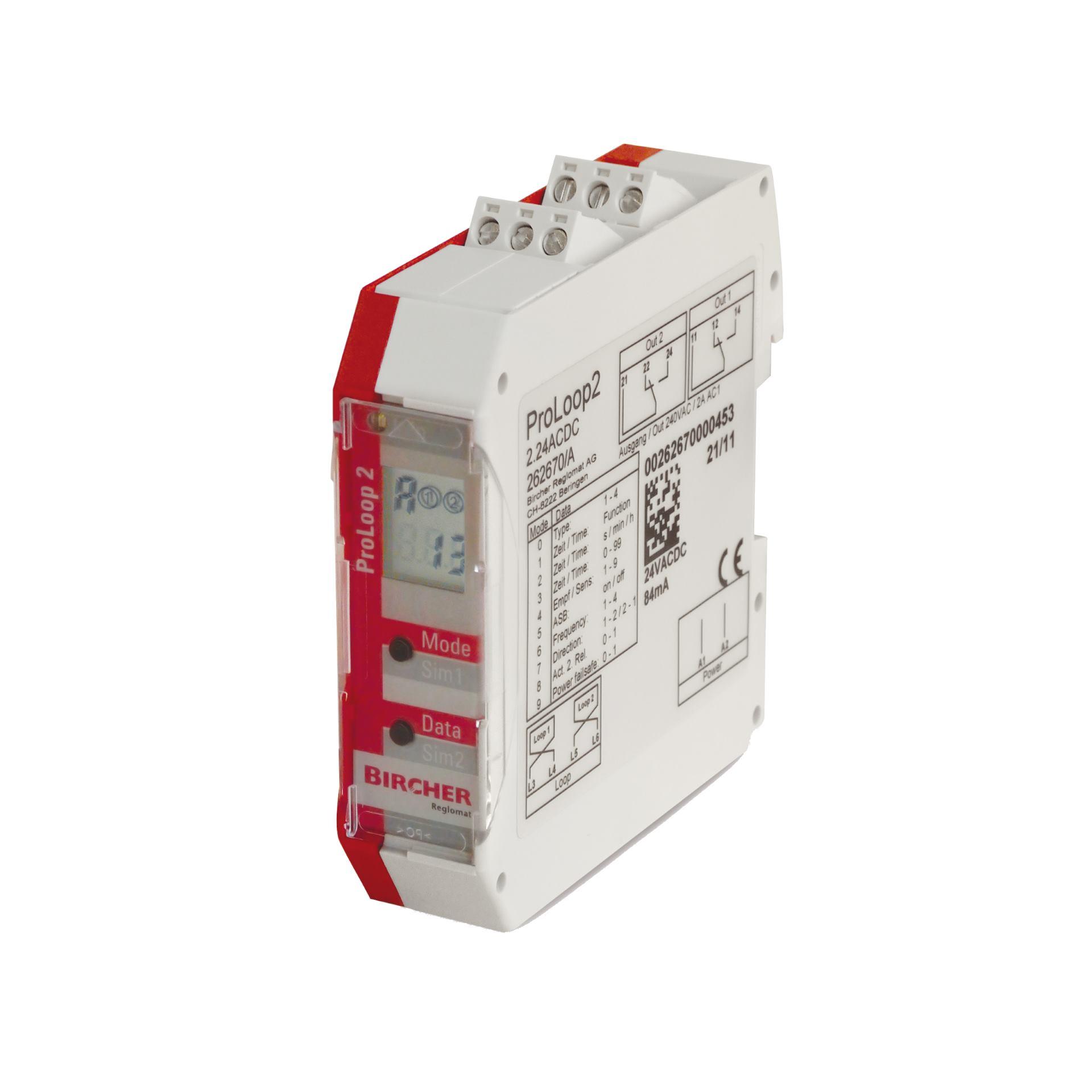 Detektor pętli indukcyjnej PROLOOP 2