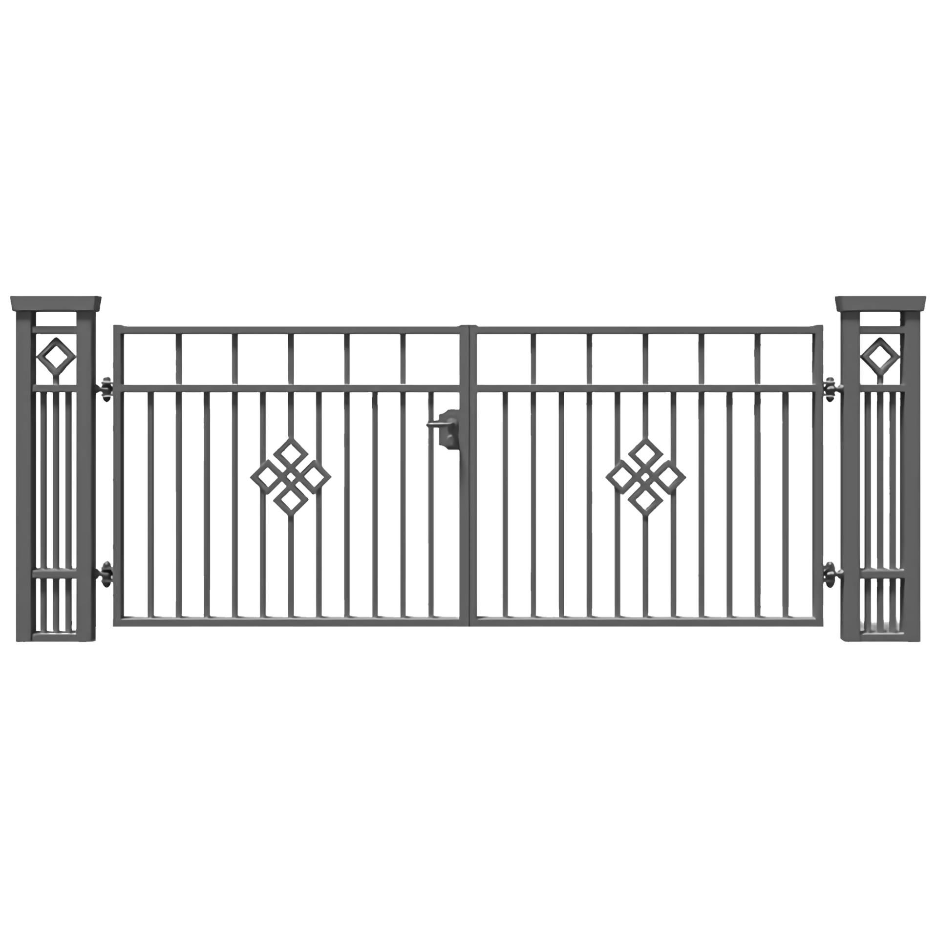 Brama dwuskrzydłowa JASPIS